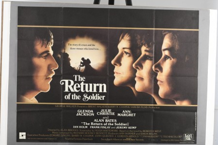 """Original """"The Return of the Soldier"""" Cinema Poster"""