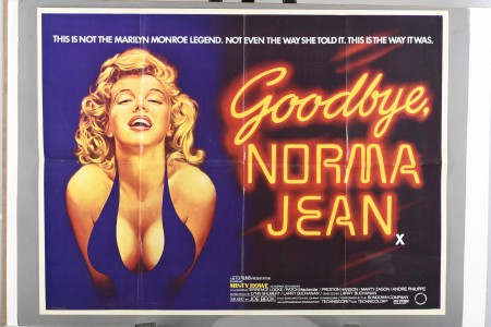 "Original ""Goodbye Norma Jean"" Film Poster"