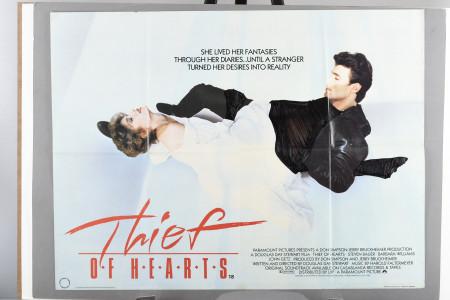 "Original ""Thief of Hearts"" Cinema Poster"