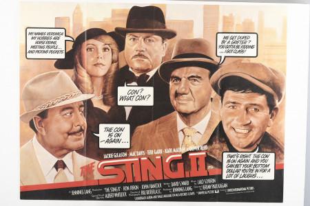 "Original ""The Sting II"" Film Poster"