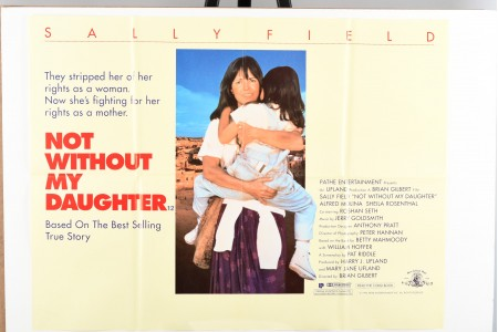 """Original """"Not Without my Daughter"""" Film Poster"""