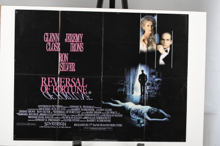 "Original ""Reversal of Fortune"" Film Poster"