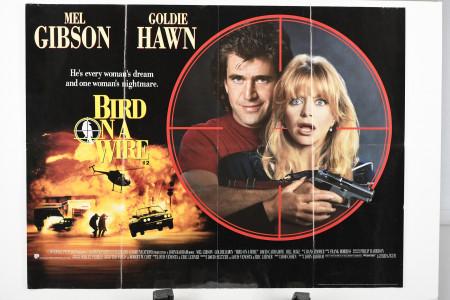 "Original ""Birds on a Wire"" Film Poster"
