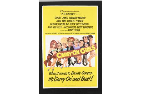 "Original ""Carry on Girls"" Cinema Poster"