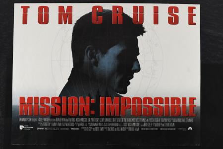 "Original ""Mission Impossible"" Cinema Poster"