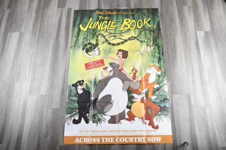 "Very Rare ""Jungle Book"" Film Poster"