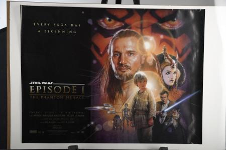 """Phantom Menace"" Episode One Film Poster"
