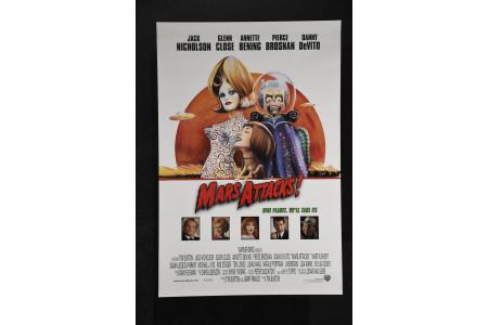 """""""Mars Attacks!"""" Cinema Poster"""
