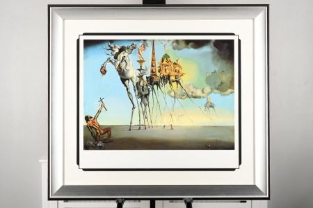 """Salvador Dali Limited Edition """"The Temptation of St. Anthony, 1942"""""""