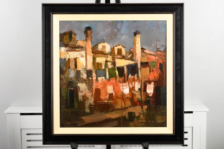 Di Valesca Oil on Canvas Framed