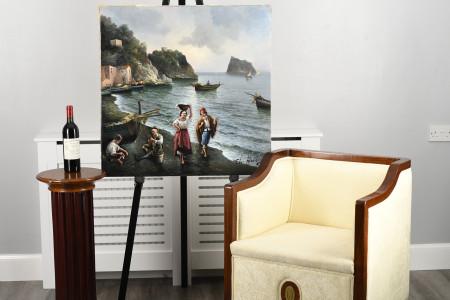 Oil on Canvas by Italian artist Amoroso