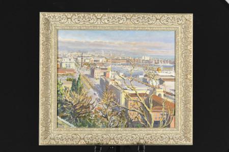 Spanish Oil on Canvas by Vinyeta