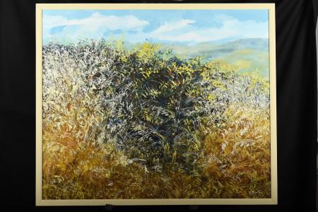 Original Oil on Canvas by E. Bertin