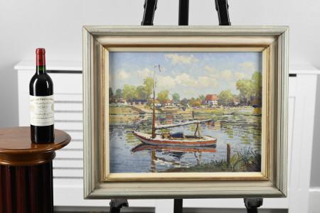 Original Oil on Canvas by Heytman