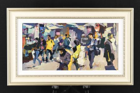 Original Oil on Canvas by Artist Luk Kwok Yuen