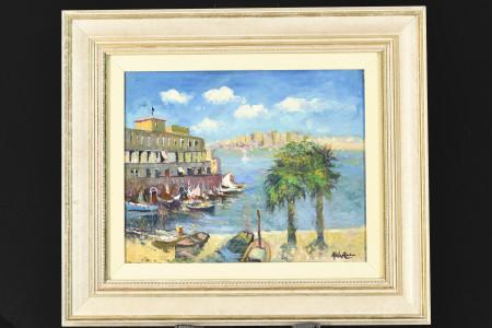 Original Oil on Canvas by John Ambrose