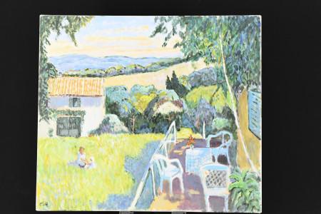 Original Oil on Canvas by the English Artist John Ash
