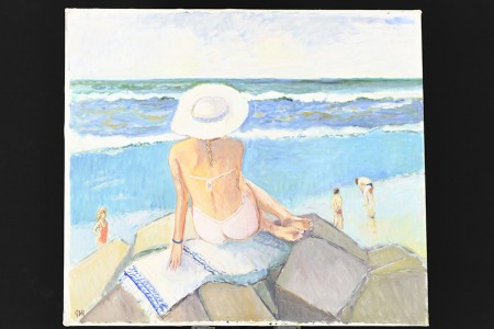 Original Oil on Canvas by English Artist John Ash