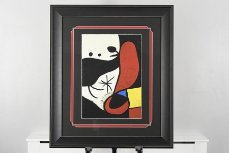 Joan Miro Limited Edition. 1 of only 75 Published Worldwide.