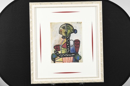 Pablo Picasso Limited Edition on Silk