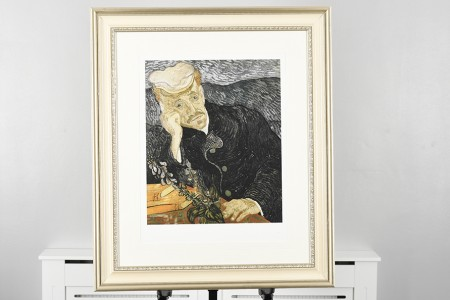 """Van Gogh Limited Edition """"Portrait of Dr. Gachet"""" Number 29 of 75 Worldwide."""