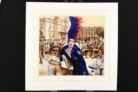 Rare Limited Edition on Canvas by the Monaco based Artist Viatcheslav Plotnikov. One of only Nine Published.