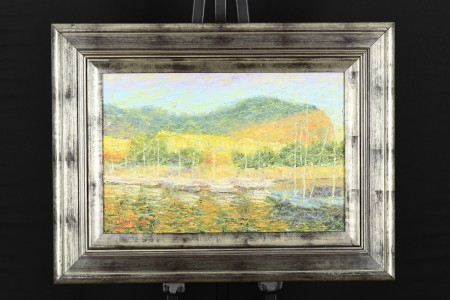 Original Framed Oil on canvas by Roberto Masia (Italian)