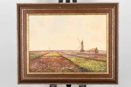 Original Painting by English Artist Colin Maxwell Parsons
