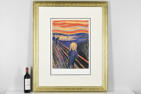 """""""The Scream"""" by Edvard Munch. Limited Edition"""