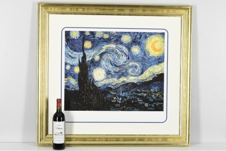 """""""Starry Night"""" by Vincent van Gogh Limited Edition."""