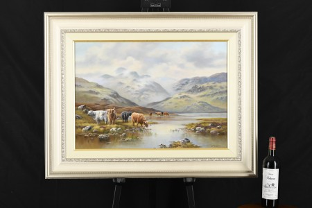 Original Oil on Canvas by English Artist Wendy Reeves