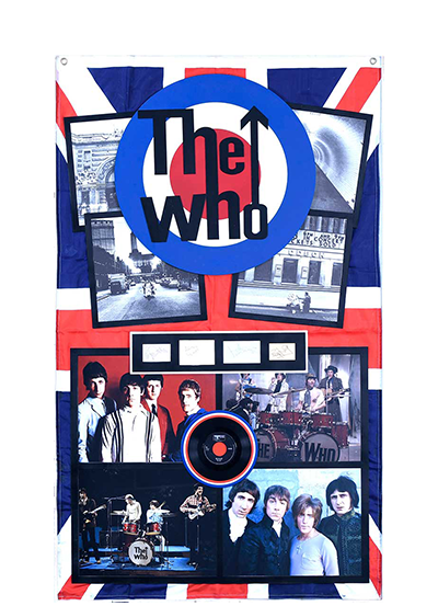 """THE WHO"" UNIQUE MEMORABILIA"